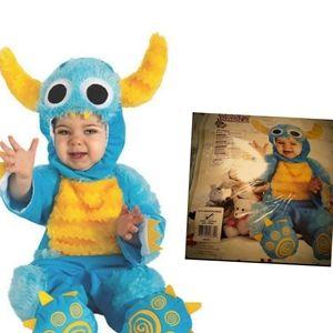 RUBIES  6-12 m  blue Mr monster  halloween costume